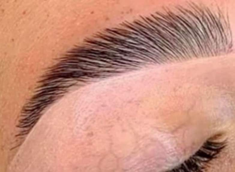 laminated eyebrows